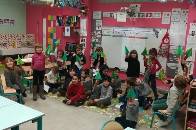 Visuel : Géometrie en classe de Myrtille !