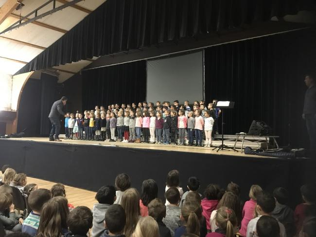 Visuel : La chorale à l'école : un projet artistique exigeant