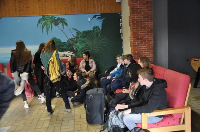 Visuel : Accueil des correspondants Allemands