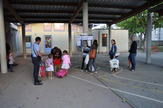 Visuel : Rentrée primaire 2018 - 2019