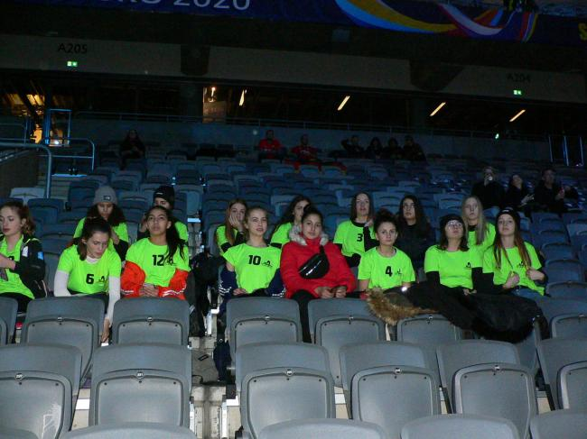 Visuel : Voyage en Suède de la section handball