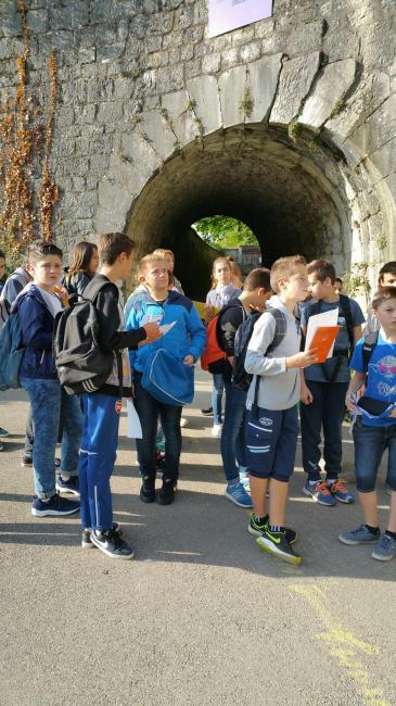 Visuel : Temps Fort des élèves de 4ème à GRENOBLE