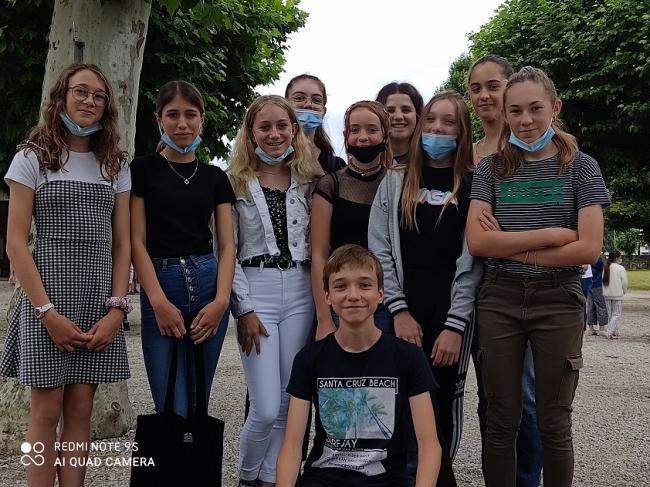 Visuel : Journée d'intégration et de cohésion 6ème