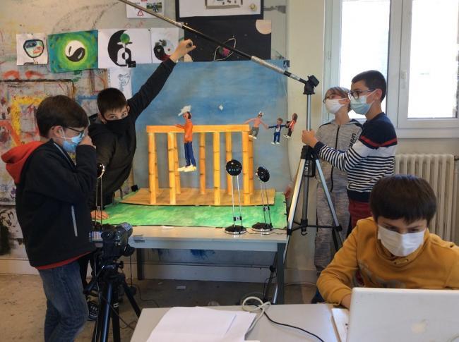 Visuel : Making-of film d'animation Partie 2