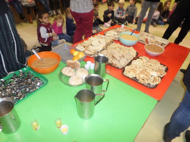 Visuel : Semaines du goût en maternelle