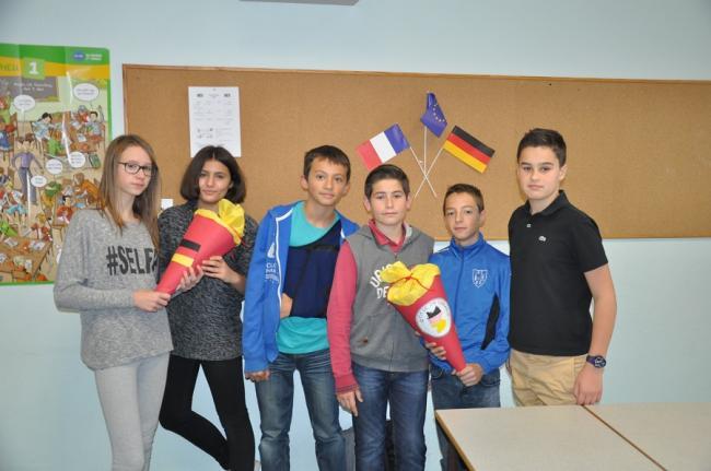Visuel : Initiation de l'Allemand en CM2