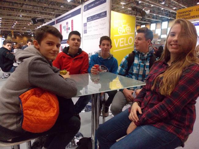 Visuel : Les élèves de 3ème DP3 au Mondial des Métiers de Lyon