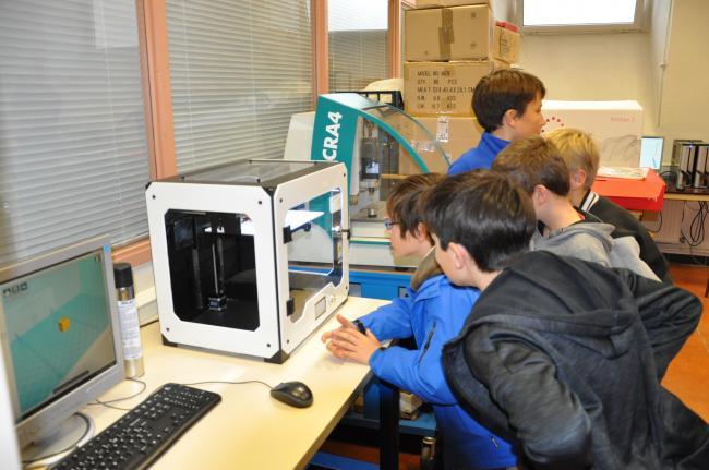 Visuel : Un nouvel outil pédagogique au collège