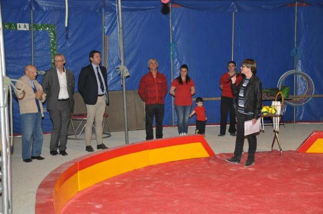 Visuel : « le cirque aux Maristes »