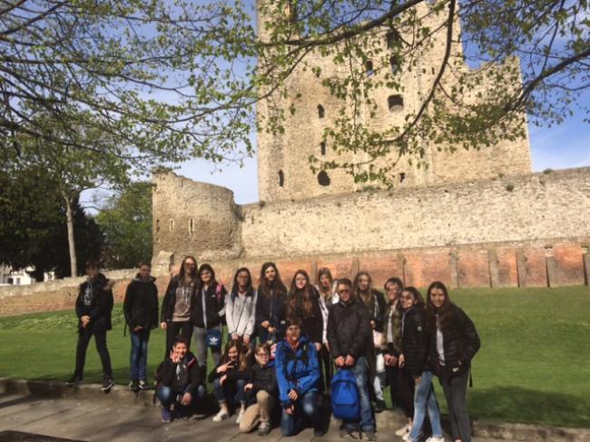 Visuel : Le voyage en Angleterre
